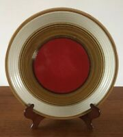 RARE MIkasa Nature's Song RUSTIC RED Dinner Plate(s) VTG, Replacement, EUC, MCM