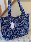 Vera Bradley Large Glenna Tote Shoulder Bag Purse Tropics Tapestry NWT