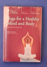 The Great Courses ~ Yoga for a Healthy Mind and Body ~ DVD&Book ~ Brand New!