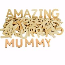 120 Wooden Letters Capital Alphabet Educational and Craft