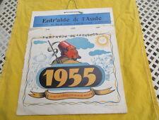 Tartarin de Tarascon - Calendrier 1955 - Carcassonne
