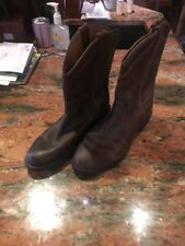 Ariat Heritage Roper Boots, Brown, Distressed, Western, 14525, 7B