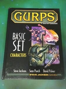 GURPS 4th Ed Basic Set Characters Hardcover