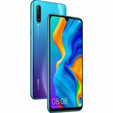 New HUAWEI P30 Lite MAR-LX1A 128GB Dual Sim 4G Peacock Blue Unlocked Smartphone