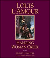 Louis L'Amour HANGING WOMAN CREEK Unabridged CD *NEW* FAST 1st Class Ship!