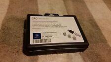 MERCEDES BENZ MB OEM B66470155 Wheel lug bolt Locks SHORT version silver color