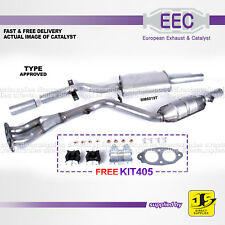 EEC CATALYST BM6019T TYPE APPROVED BMW 316 318 1.8 i/ti 2.0 Ci/i 16V - FREE KIT
