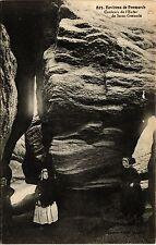 CPA   Environs de Penmarch -Couloirs de l'Enfer de Saint-Guénolé    (458261)