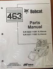 Bobcat 463 Series Skid Steer Parts Catalog Manual - Part Number # 6902178