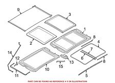 For BMW Genuine Sunroof Cover 54107391796