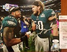 Bryan Braman Autograph Signed Philadelphia Eagles 8x10 Photo JSA COA Holo Auto