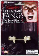 Forum Novelties 199252 Retractable Vampire Fangs Adult - White