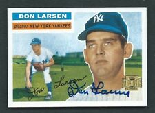 DON LARSEN N.Y. Yankees Signed Autographed 2001 Topps Archives Gold Card NR MT