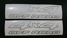 Nissan Navara D22 4x4 Off Road sticker / decal set Metallic Silver..