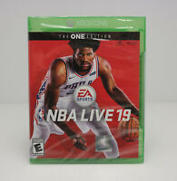 NBA LIVE 19 The ONE Edition Microsoft Xbox One NEW!  SHIPS FAST!!   SEE VIDEO!!!