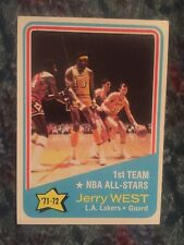 1972 Topps #164 Jerry West AS EXMT ======AK