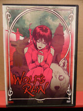 Wolf's Rain - Loss DVD VG Condition Rare
