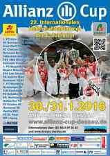 HT Dessau 30.01.2016 FCM HFC BVB S04 FCB 1860 HSV St. Pauli VfL SGE FCN BSC RBL