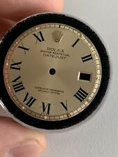 Rolex Gold Champagne Buckley Dial For Vintage Datejust Watch 1601 1570 Movement