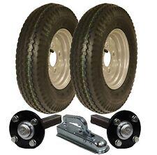 Haute vitesse double essieu remorque kit 4.80/4.00 8 route légal roues moyeu kit