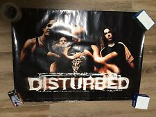 DISTURBED GROUP POSTER HARD TO FIND 24 X 36