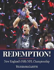 REDEMPTION New England Patriots Book 2016 (Hardcover) 128 pages Over 100 Photos