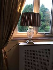 Laura Ashley Crystal Lamps