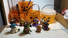 VTG McDonalds Halloween 9 Nuggets & 4 Buckets Lot (incomplete) Nice For Display