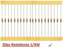 10pcs PMR2S-24K Resistenza power metal THT 24k ohm 2W ±5/% Ø4x11mm 350ppm//°C ROYA