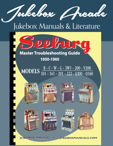 Seeburg Master Troubleshooting Guide & Manual 1950-60  ovr325pages JukeboxArcade