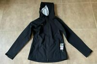 Under Armour Storm Rain Jacket Zip Up w/ Hood Black Women's XS NEW w/ tag