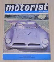 SPORTING MOTORIST Magazine Oct 1964  RELIANT SCIMITAR GT Jaguar S Type 3.8