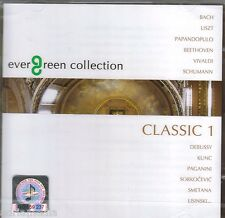 2 CD Evergreen Collection CLASSIC 1 Bach Vivaldi Beethoven Schumann Smetana Kunc