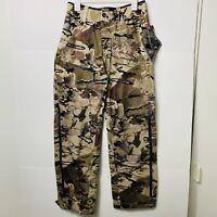 Under Armour GORE-TEX Essential Hybrid Hunting Rain Pants Camo Mens Size:Medium