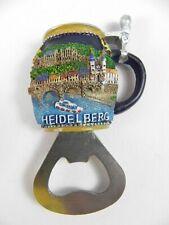 Magnet Heidelberg Germany,Poly 3 D Relief Souvenir Flaschenöffner