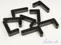 LEGO Technik - 8 x Liftarm dick 3x5, 90 Grad schwarz / Liftarme / 32526 NEUWARE