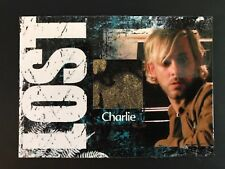 CC3 Lost Costume Relic Trading Card Dominic Monaghan As Charlie Variant 005/350