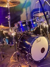 Pearl Reference Pure 7 Piece Drum Kit Ultra Blue Fade Near Brand New!