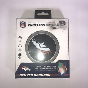NFL Denver Broncos Universal Wireless Cell Phone Charger.