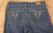 PAIGE PREMIUM DENIM~28~Hollywood Hills Blue Jeans~29x31