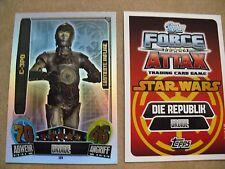 Star Wars Force Attax Movie Card Serie 3 LE8 C-3PO - NEU