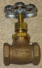 Needle Valve Central Brass  # 628 - 3/8 I.P. New
