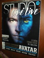 Studio Ciné Live.AVATAR, SAM WORTHINGTON & SIGOURNEY WEAVER,SERGE GAINSBOURG, yy