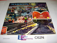 EE C62N NEW Marklin HO Catalog 1962 / 1963 3021 on Front Cover