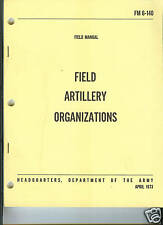 Field Artillery Organizations