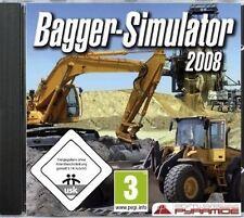 BAGGER-SIMULATOR 2008 - Viele Stunden Simulations-Spaß! - (PC) - NEU & SOFORT