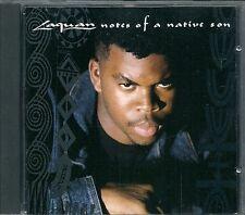 CD ALBUM 14 TITRES--LAQUAN--NOTES OF A NATIVE SON--1990