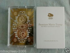 JAPAN Official Club Nintendo 2012 Premium MARIO and Friends Playing Cards Trump