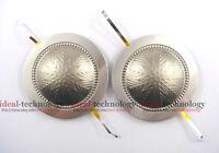 2pcs 44.4 mm 44.5mm Replacement diaphragm voice coil  1.75'' 8 ohm