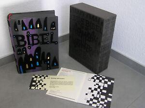 Hundertwasser Bibel mit Schuber 1995 ungelesen - Sehr gut